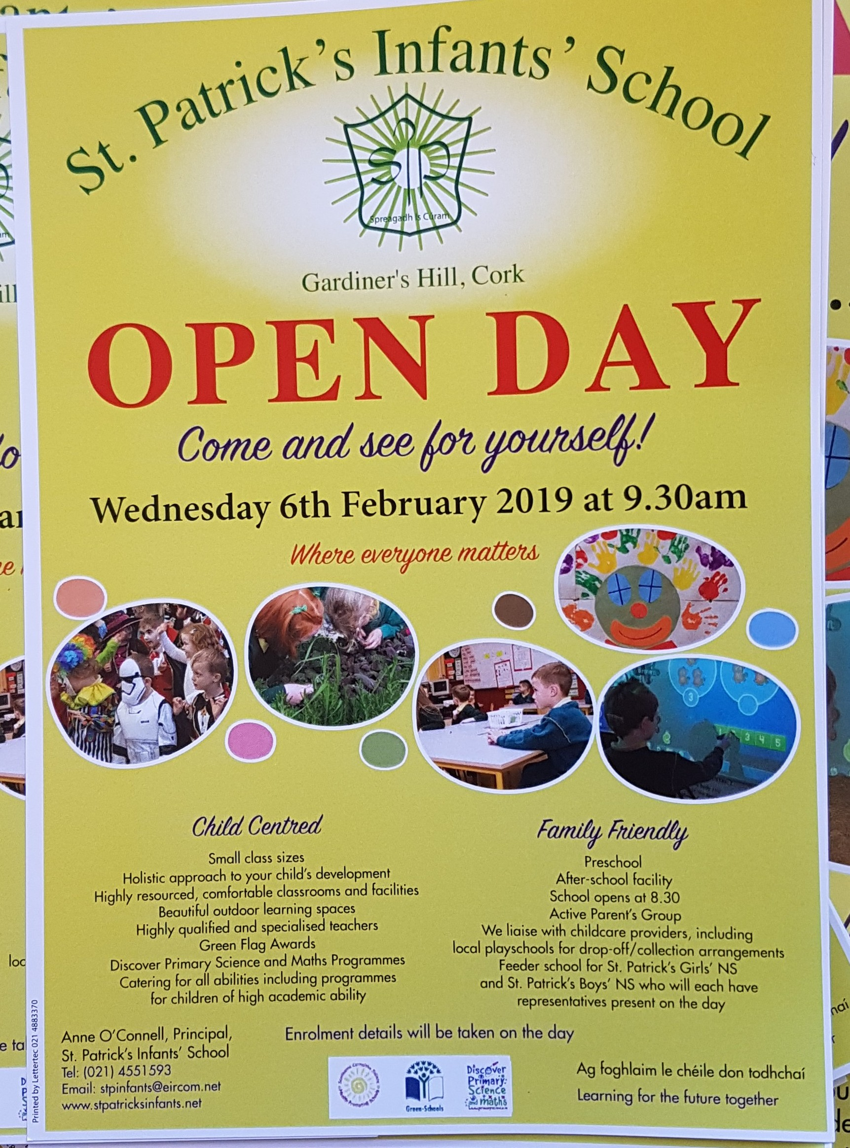 Open Day February 6th 2019