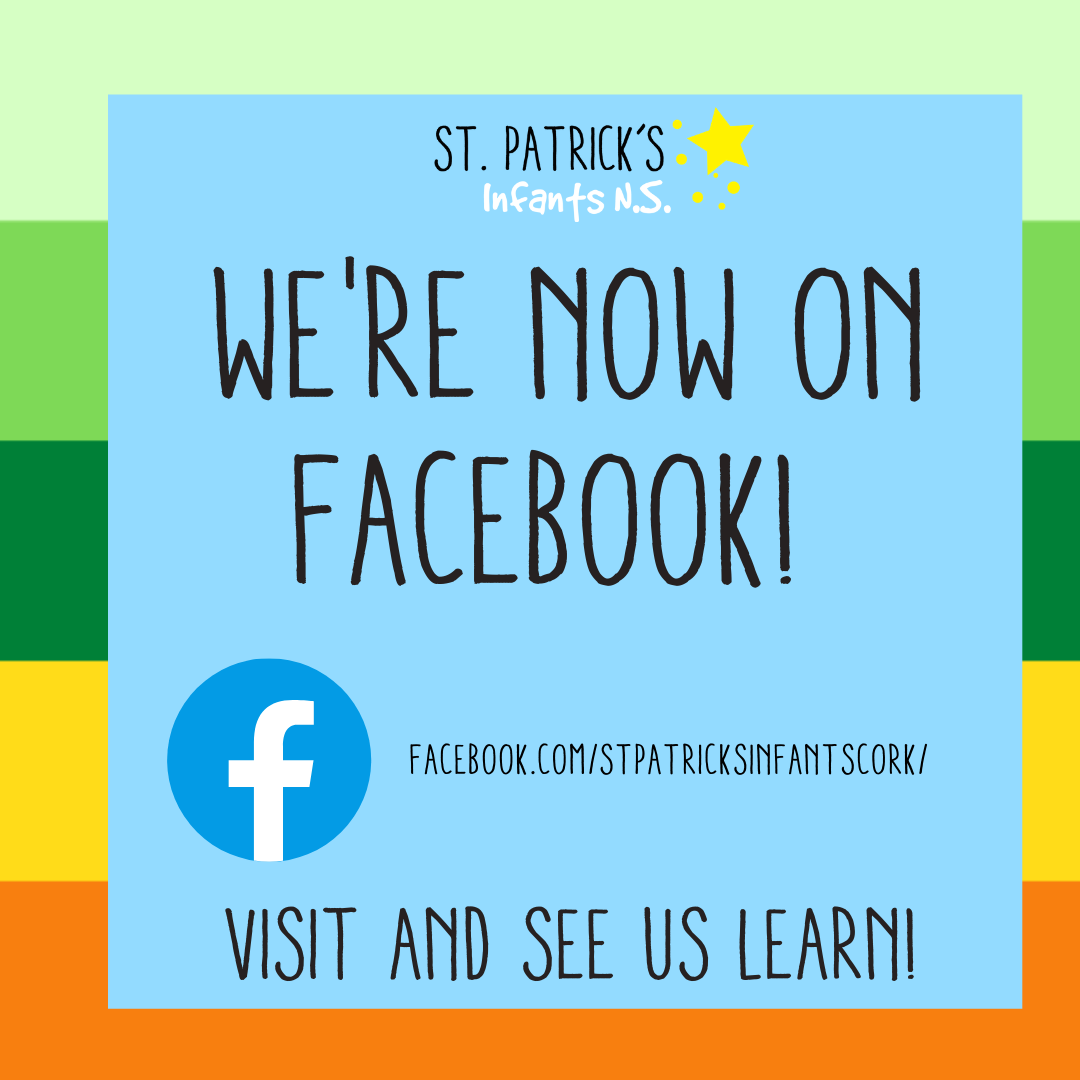 Our new Facebook page